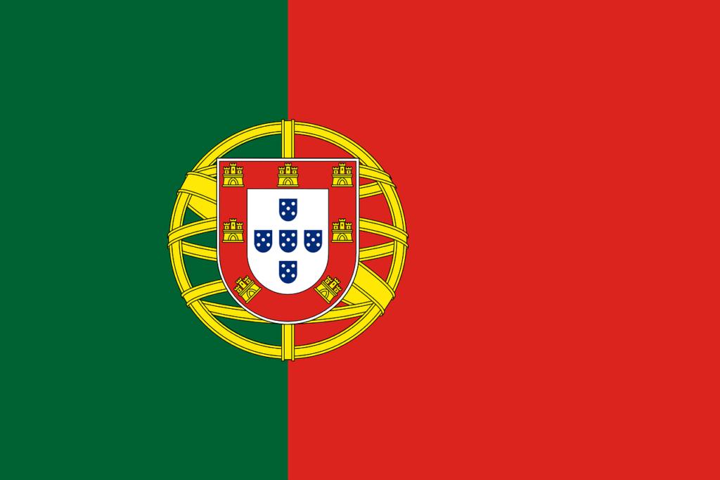 Porugal. Portuguese flag